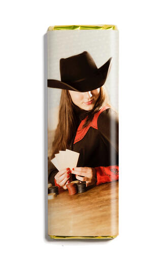 Wild West, Lady Luck Chocolate Bar